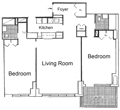 23E Tremont On The Common, Floor Plan