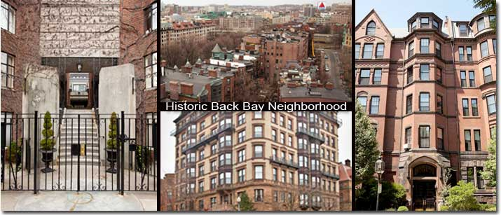 Landmarks & Historical Buildings Back Bay Boston
