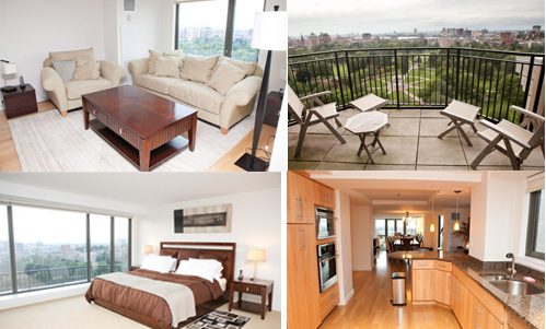 short-term corporate apartment rentals downtown boston