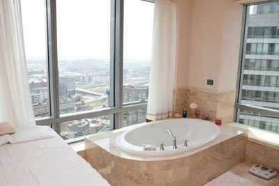 Ritz Carlton Condo Master Bathroom Views