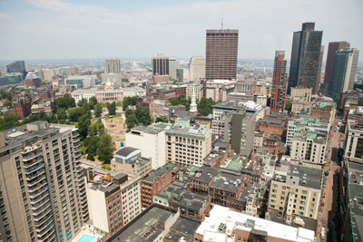 Downtown Boston Views