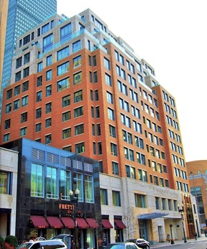 Mandarin Boston Entrance