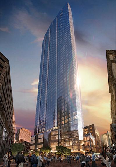 New Millennium Tower, Condos Boston