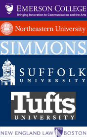 We are located near: Emerson College, Simmons College, Suffolk University, Tufts University, New England School of Law