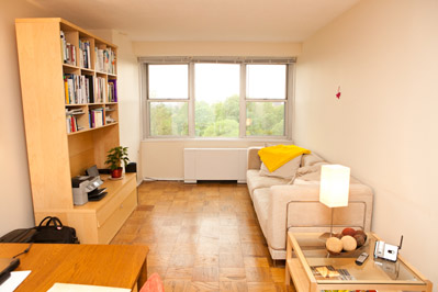 furnished apartment, bedroom one