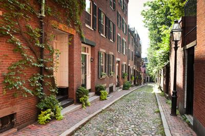 Mt Vernon St Louisburg Square Boston Condo For Rent